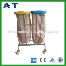 Contenedores de basura de hospital de acero inoxidable