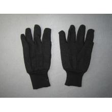 8oz schwarz Jersey Liner Baumwolle Arbeitshandschuh