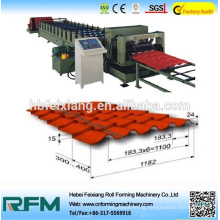 China glazed tile roll forming machine for structure