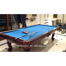 Solid wood pool table billard table indoor game folding tables