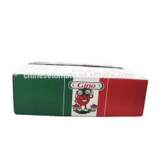 Pasta concentrada concentrada de tomate de la marca Gino para el mercado de Italia