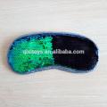 Decoración personalizada profesional de lentejuelas Soft Plush Eye Msk