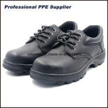 Sapatos de borracha de couro de forquilha de couro barato