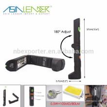 Produtos do líder de Ásia BT-4800 0.5W + 10SMD Luzes dobráveis do trabalho do diodo emissor de luz