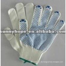 PVC-gepunktete Handschuhe zum Schutz