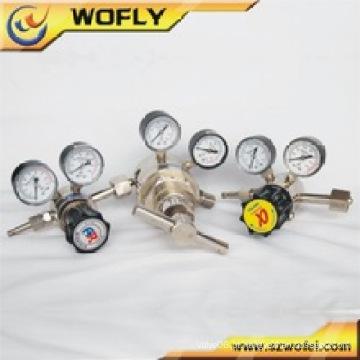 Válvula reguladora de oxigênio do regulador de alta pressão