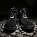 военные армейские сапоги для мужчин на высоком каблуке