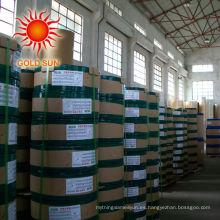 100% de papel libre de madera recubierto de pulpa de madera 80gsm en carrete