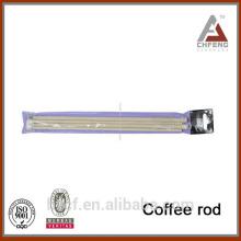 Barra de café de diseño superior, barra flexible de la cortina de ducha, barra telescópica del café del resorte