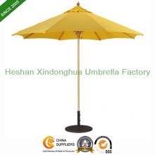 9 Feet Market Patio Wooden Umbrella for Hotel (WU-R0827)