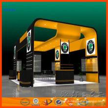 Stand modulaire en aluminium adapté aux besoins du client d'exposition de stand d'exposition pour le salon commercial pour la vente et la location