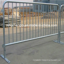 Galvanized Mobile Crowd Control Barrier