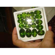 Piedras preciosas joyería piezas sueltas Peridot (3-40 quilates)