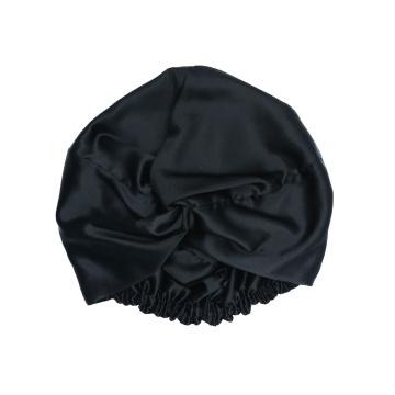 Boné de seda personalizado com design de logotipo personalizado