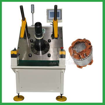 Three phase motor auto stator coil inserting machine