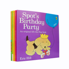 Eco-Friendly Full Color Softcover Children Story Book