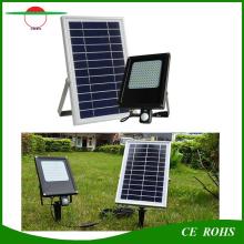 120LED PIR датчик движения Flood Light солнечная панель 6V 6W водонепроницаемый прожектор с 6000mAh аккумулятор