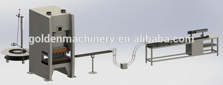 La máquina automática para fabricar tapas de aluminio EOE puede superar la línea FA