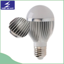 E27 9W Aluminio LED bombilla con disipador de calor