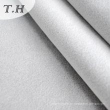 Tela decorativa flocada en color blanco