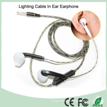 Built in Microphone Lighting in Ear Luminous MP3 Earphone (K-700)