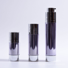 15ml 30ml 50ml Double Wall Cylinder Twist up Airless Bottles with Base
