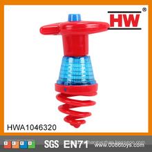 Venta caliente Electric Light Up Spinning Top juguete (rojo verde surtido)