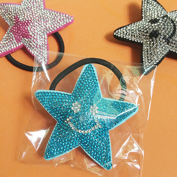 Leather Star Hair Ornaments