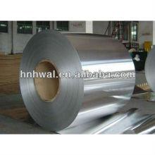 En alliage d'aluminium de haute qualité 8011 température h14 et h16 bobine en aluminium léger pour capuchons et aluminium