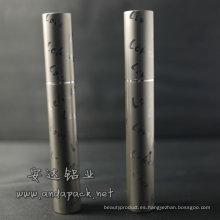 tubo del rimel aluminio