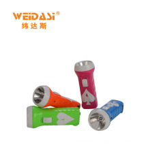 household colorful portable rechargeable torch light long distance for wholesale