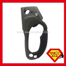 Aluminium Klettern CE EN567 AAD-0328-L 8mm 13mm Aufstieg gehandhabt Links Hand Ascneder