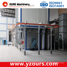 Complete Powder Coating Line with Auto/Manual Paint Gun