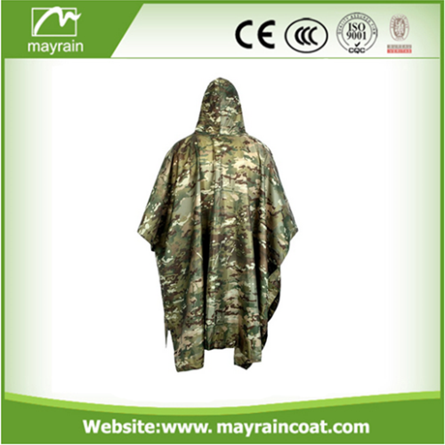 Military Poncho PVC Coated