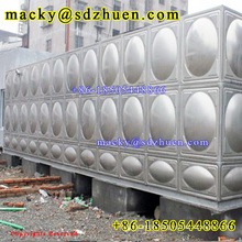 China food grade welding stainless steel 304 water tank manufacturer
