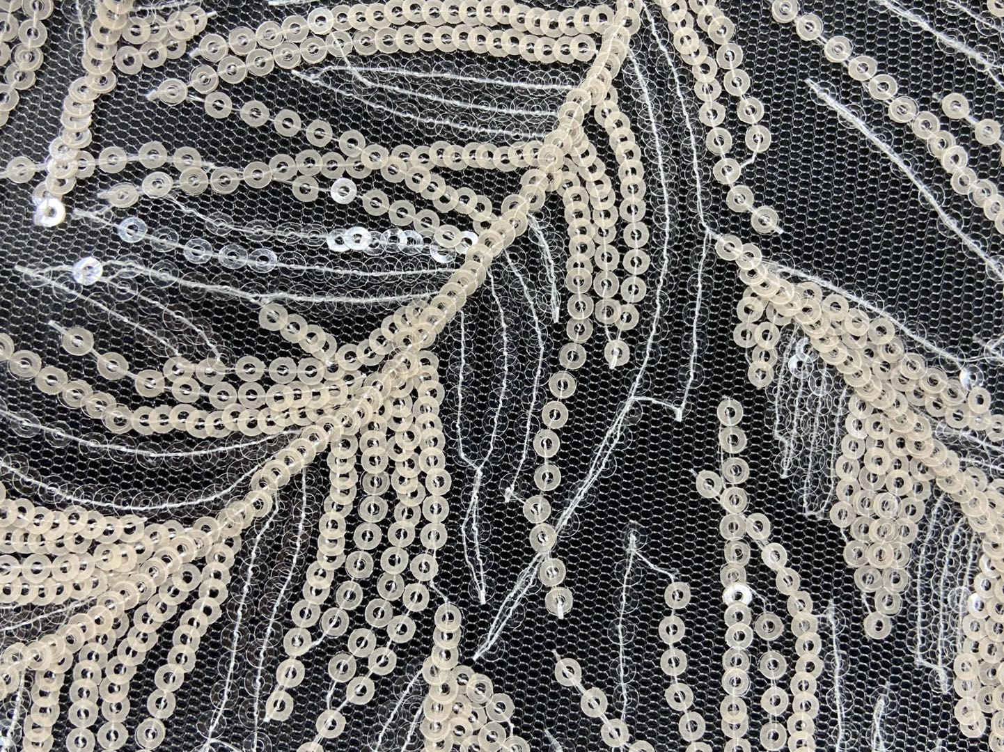 Feather Pattern Embroidery Fabrics