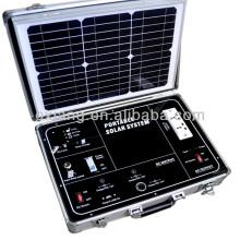 Generador solar portátil de AC / DC 500W, generador solar de la cartera