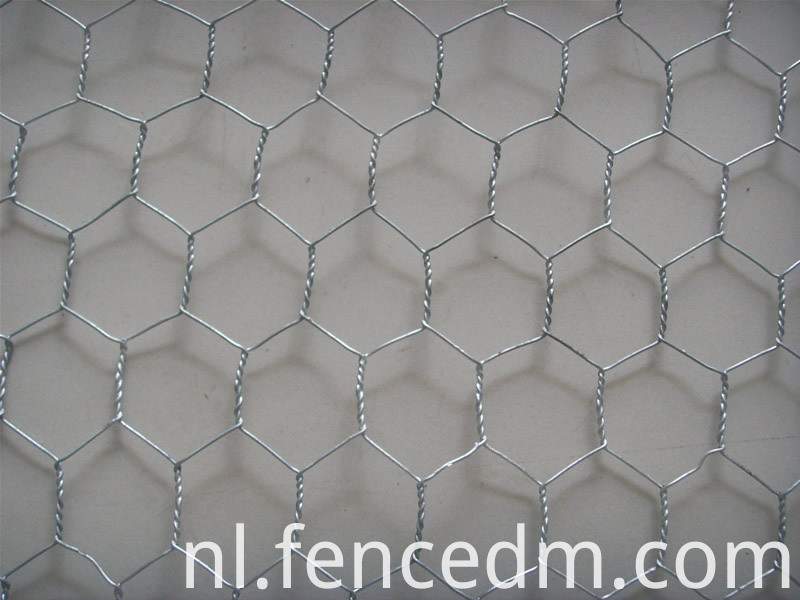 electric galvanized hexagonal wire mesh