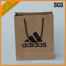 Saco de papel kraft com design personalizado para sapato (PRP-434)