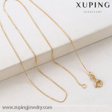 Cadenas plateadas oro de la venta 18316 Xuping de la moda de la joyería de Xuping para el colgante