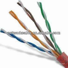 4 pares Twisted Twisted Cat5e UTP com largura de banda de 100MHz