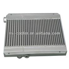 Intercambiador de calor compresor de tornillo