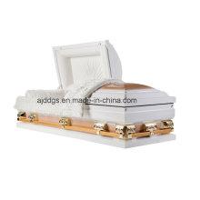 Cercueil blanc et or (grand format)