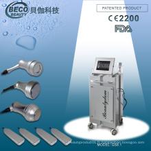 Beco Vacuum & Ultrasonic + 4X 1MHz Ultrasound Board + 80k Ultrasound + 40k Cavitation Slimming Machine GS8.1