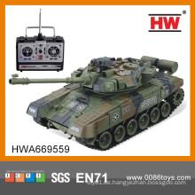 2014 Neugeborenes 4 Kanal RC Modell Tank Spielzeug mit Ladegerät