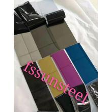 SS 8K seven colors decorative sheets
