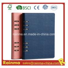 Caderno de organizador de couro Agenda para presente de negócios