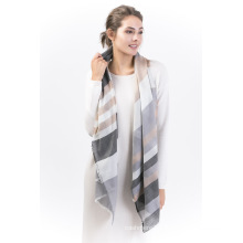 Latte-90%Wool &10%Cashmere Ladies Scarf