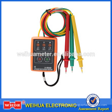Phase Meter Phase Rotation Tester Phase-sequence Meter Phase Detector Sequence Indicator Phase Indicator WH852B