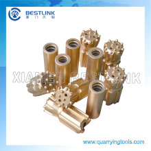 Thread Button Drill Bits for Drill Holes